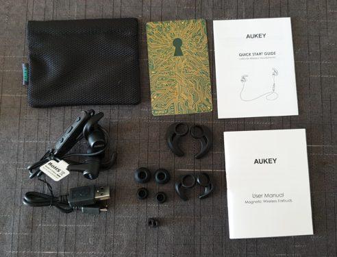 Accesorios de lotes auriculares Bluetooth Aukey