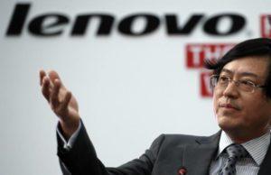 Yang Yuanqing, CEO de Lenovo