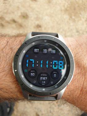 Samsung Galaxy watch pantalla principal.
