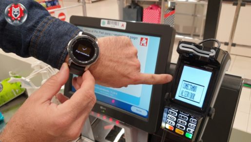 Paga con tu Samsung Galaxy Watch.