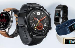 Huawei Watch GT y Huawei Band 3 Pro