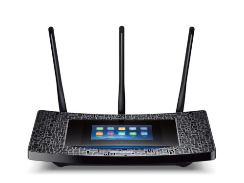 TP-Link Touch P5 Router Gigabit Wi-Fi ac 1900 pantalla táctil Router Wi-Fi Gigabit con Pantalla Táctil AC 1900 para Mac, iPhone y iPad.