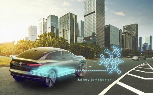 Batería cuántica la nueva andadura de Volkswagen.