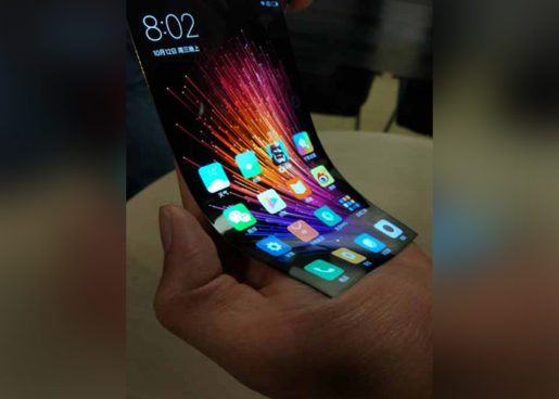Xiaomi smartphone plegable.